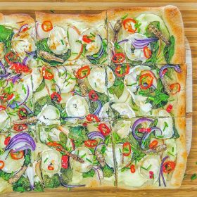 sprinkhaanpizza