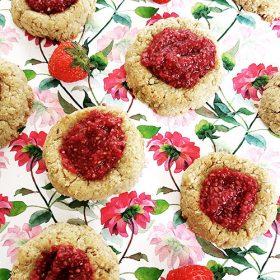duimprint-koekjes-aardbei