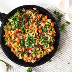 pasta-frittata