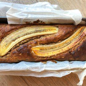 Kokos-banaanbrood