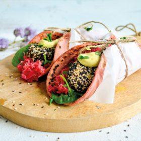 zwarte bonen falafel